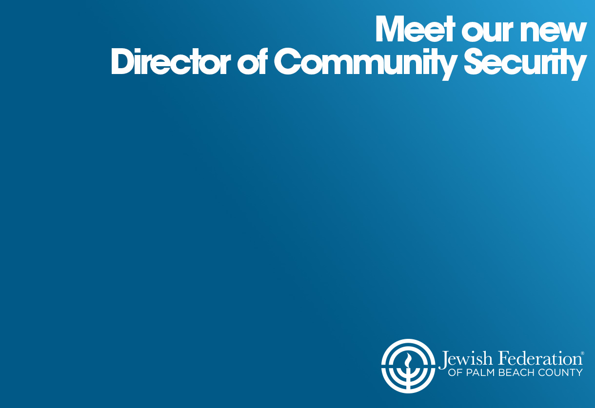 MEET OUR  NEW DIRECTOR OF COMMUNITY SECURITY