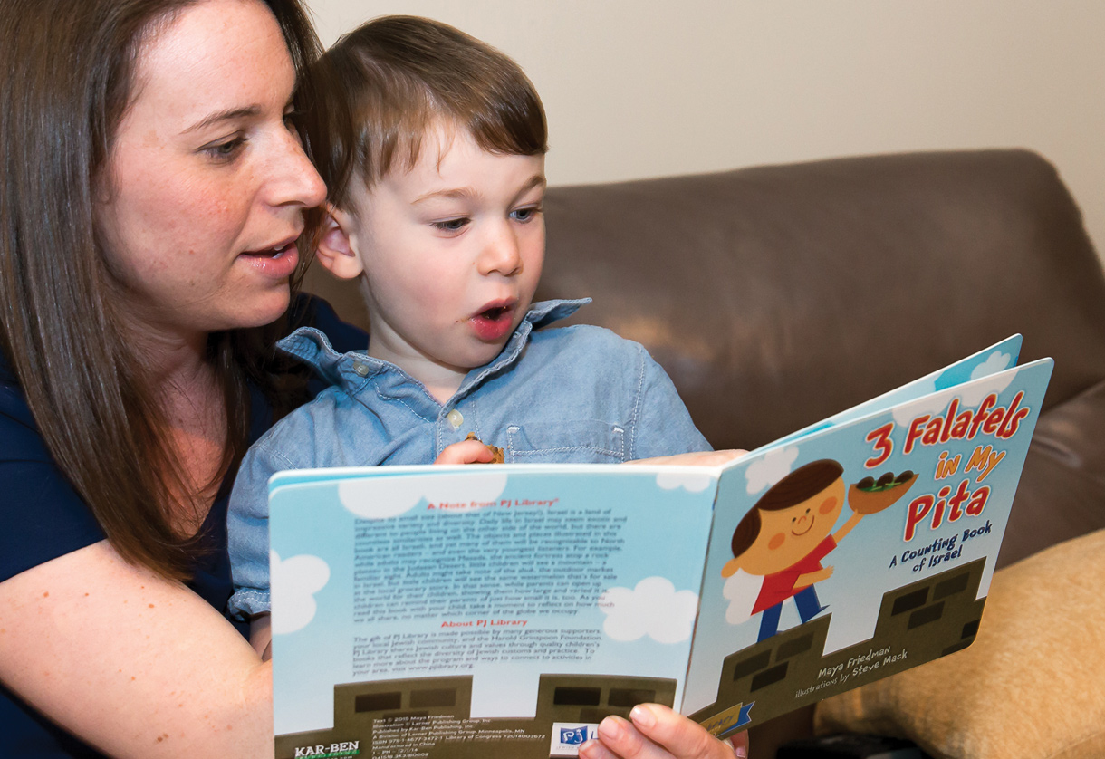 ETHAN, 3, MAKES HISTORY AS RECIPIENT OF 100,000TH PJ LIBRARY® BOOK DELIVERY