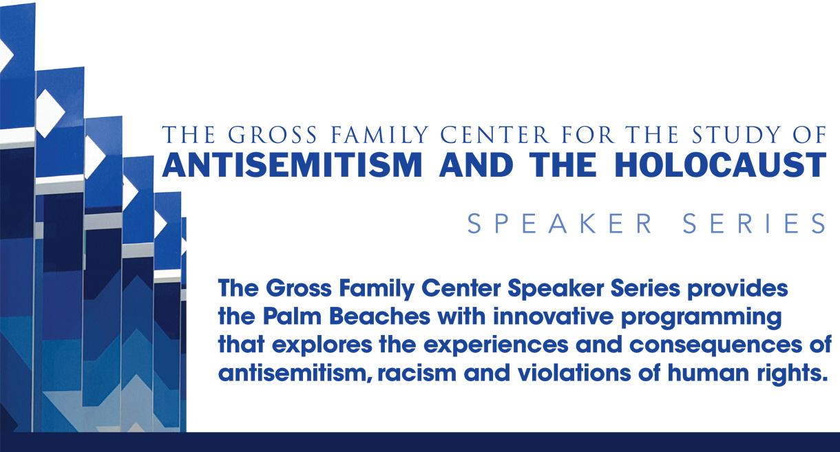 THE GROSS FAMILY CENTER SPEAKER SERIES 2019-2020