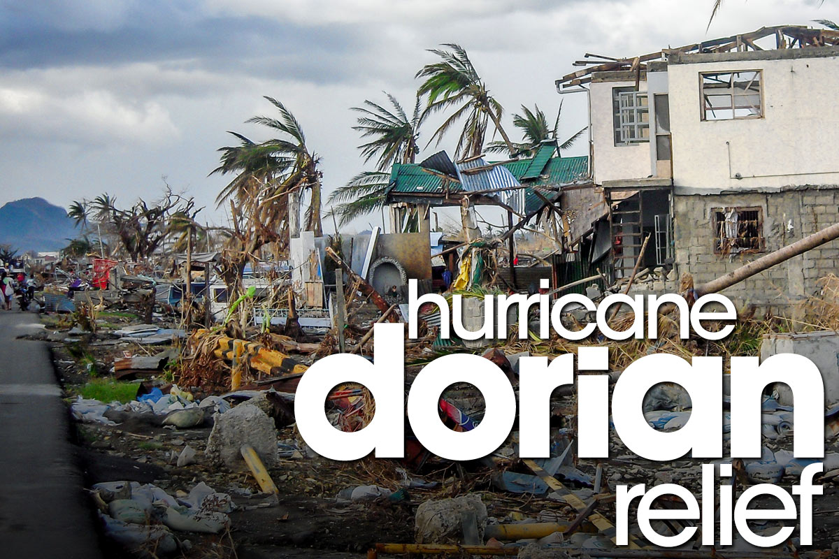 HURRICANE DORIAN EMERGENCY SUPPLY DRIVE