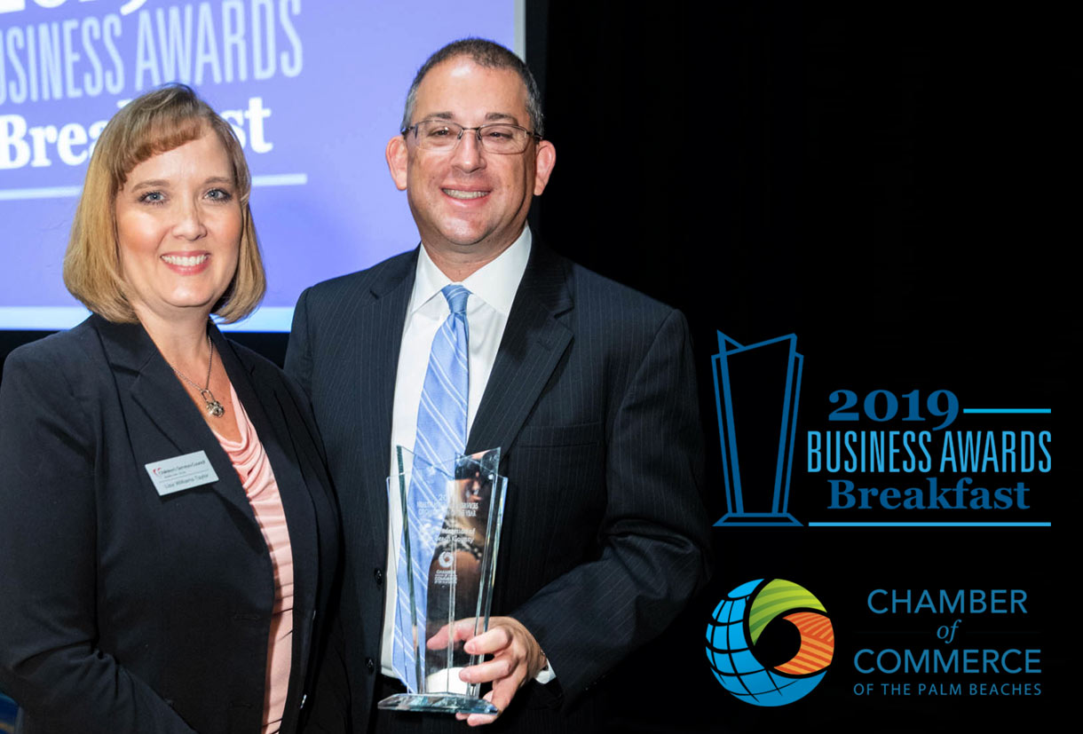 Federation Wins Chamber of Commerce of the Palm Beaches' Health and Human Services Award