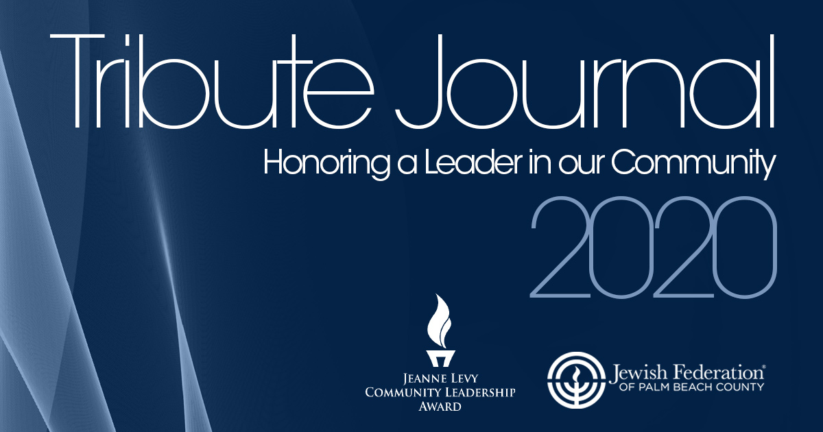 2020 Tribute Journal honoring Judith A. Levy
