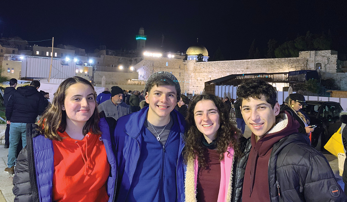 ZISRAEL FELLOWSHIP NURTURES STRONG CONNECTIONS TO ISRAEL