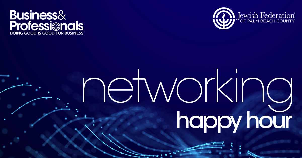 Business & Professionals Networking Happy Hour