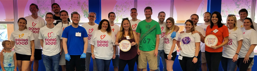Volunteers Celebrate Good Deeds Day
