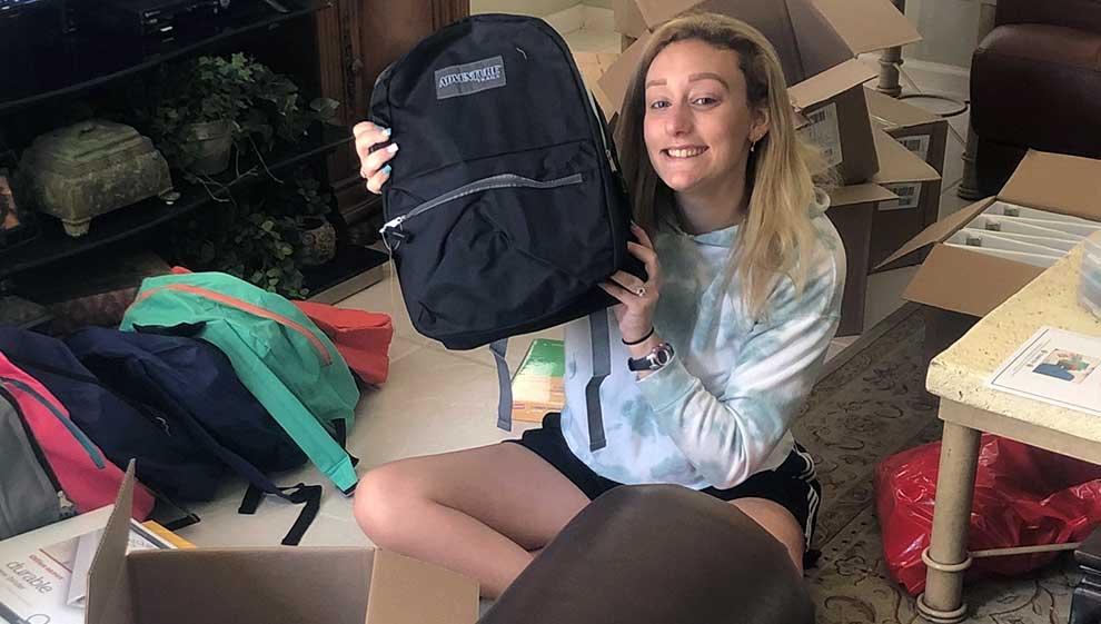 Volunteer-packing